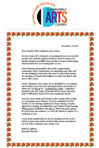 Newsletters Carpinteria Art Center 12/15-12/31/2017