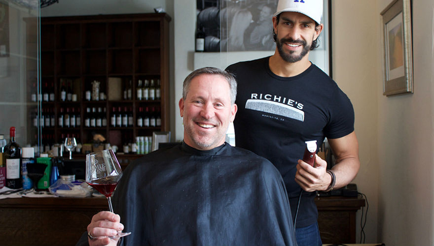Displaced Montecito Barber Pops Up in Presidio Neighborhood Winery-1