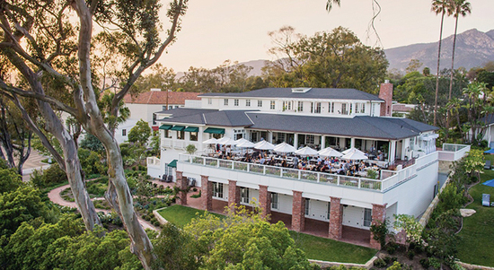 El Encanto - Dining on the Terrace