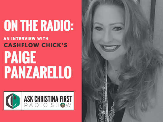 On the Radio: An Interview with Paige Panzarello
