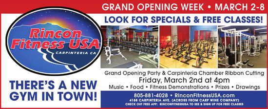 Grand Opening Week, March 2nd-8th, 2018
