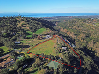 SOLD & CLOSED  With a back up offer!!Amazing opportunity 5 acres with ocean/Mountain views & a mid century ranch home