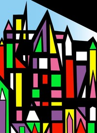 Colorful City II