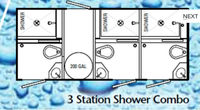 15' Combination Shower/Restroom Trailer-7