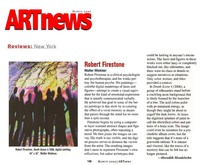 ArtNews Review March 2007