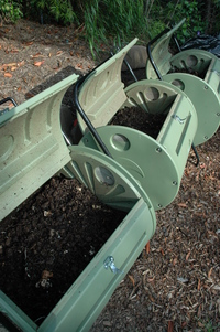 Rotating Compost Bins