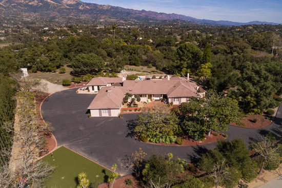 Hope Ranch - Estate with Guest House