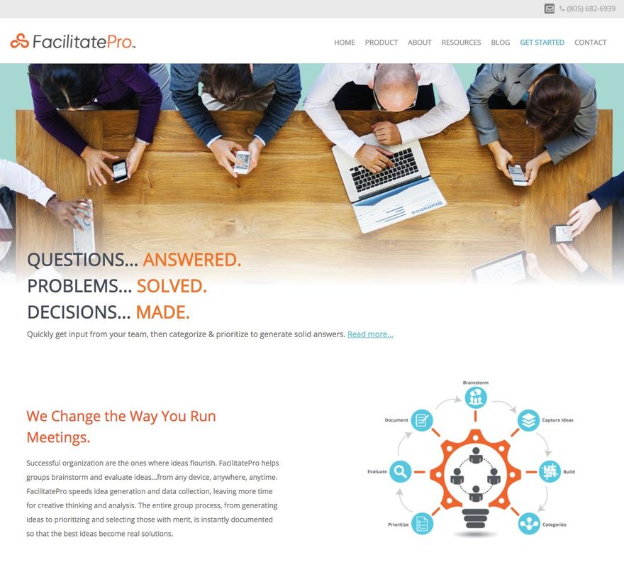 FacilitatePro Group Collaboration Software