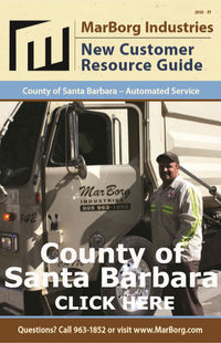Marborg Customer Guide For County of Santa Barbara