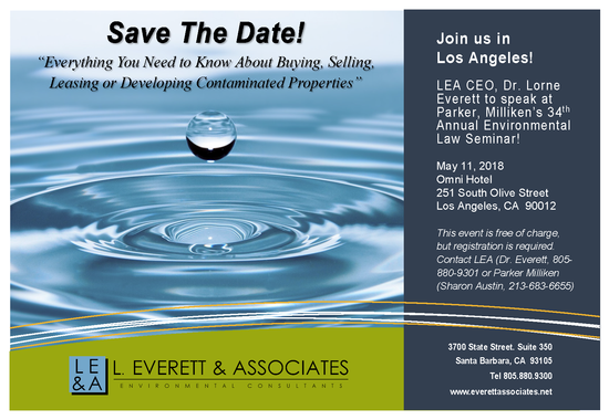 Dr. Everett to Speak at L.A. Environmental Law Conference