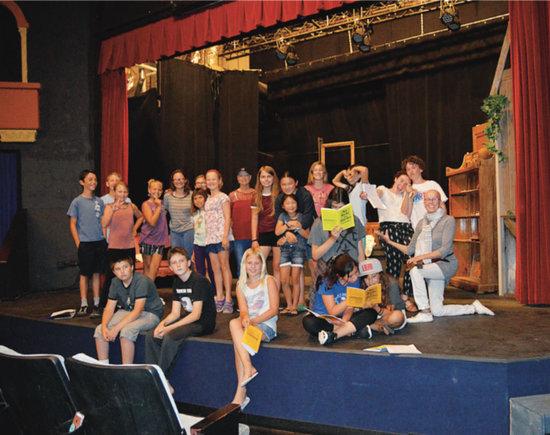 Summer Drama Camp at the Alcazar Theatre Carpinteria