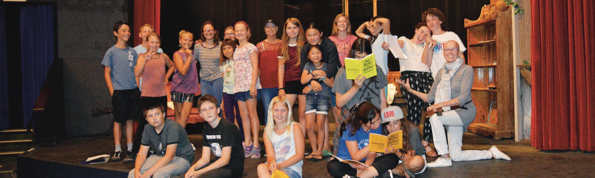 Summer Drama Camp at the Alcazar Theatre