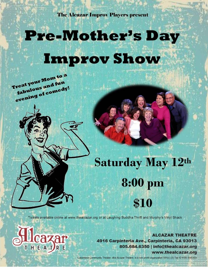 Pre-Mother's Day Improv Show