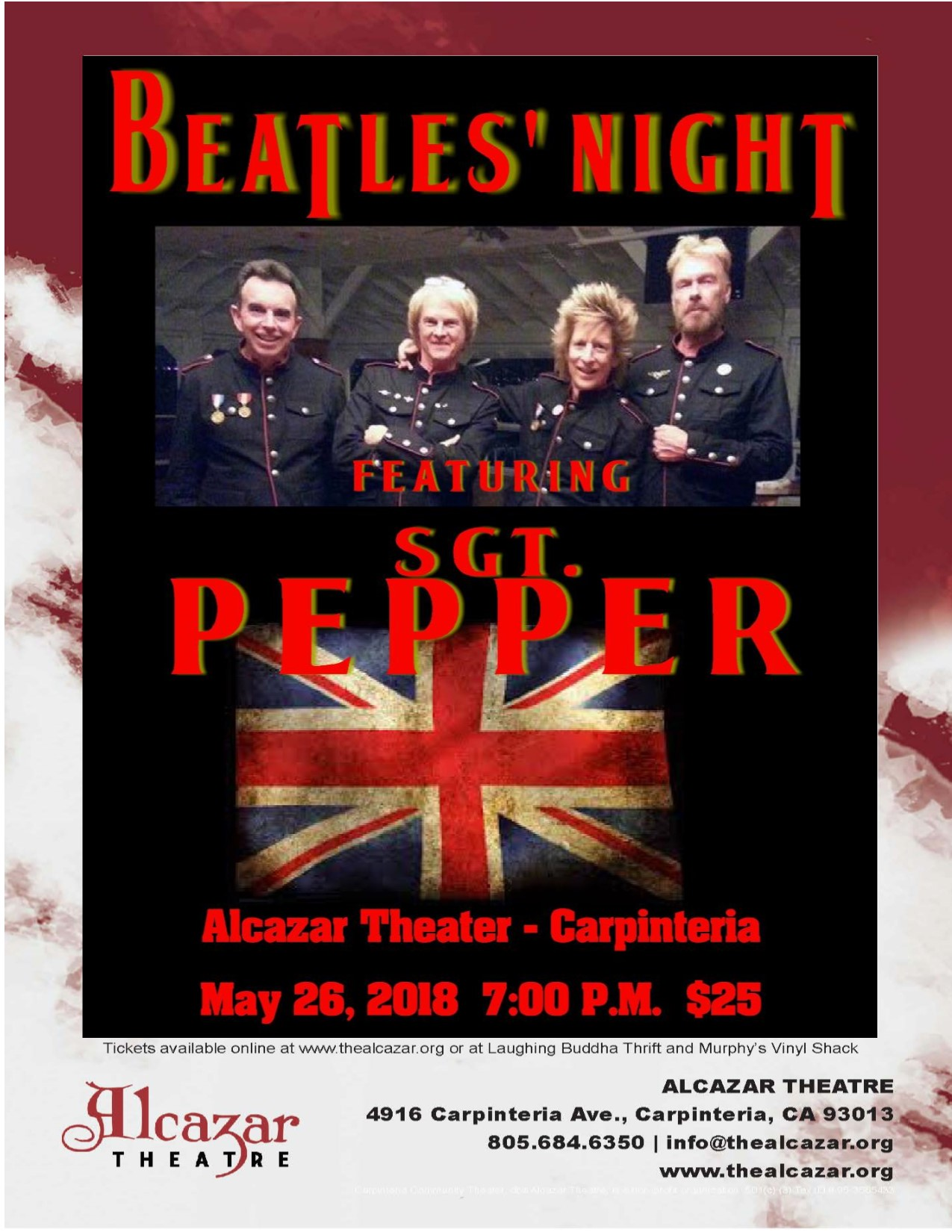 Beatles Night featuring Sgt. Pepper