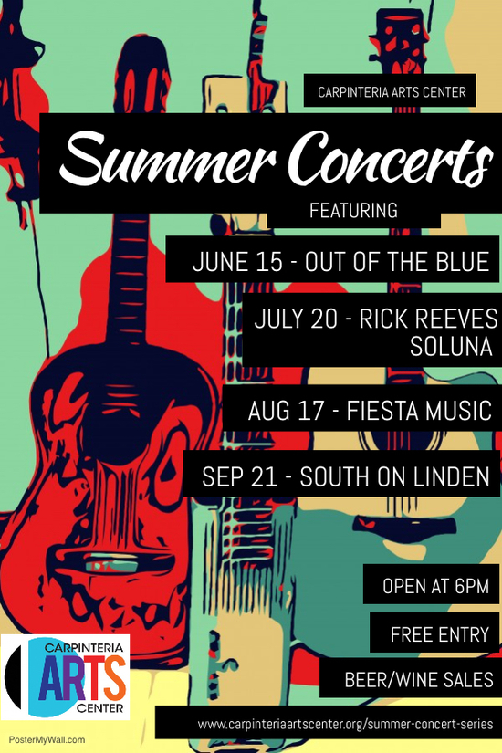 Summer Concert Series DRAFT POSTER - as of 21MAY18