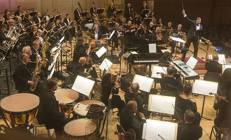 Timpanist for The New York Pops