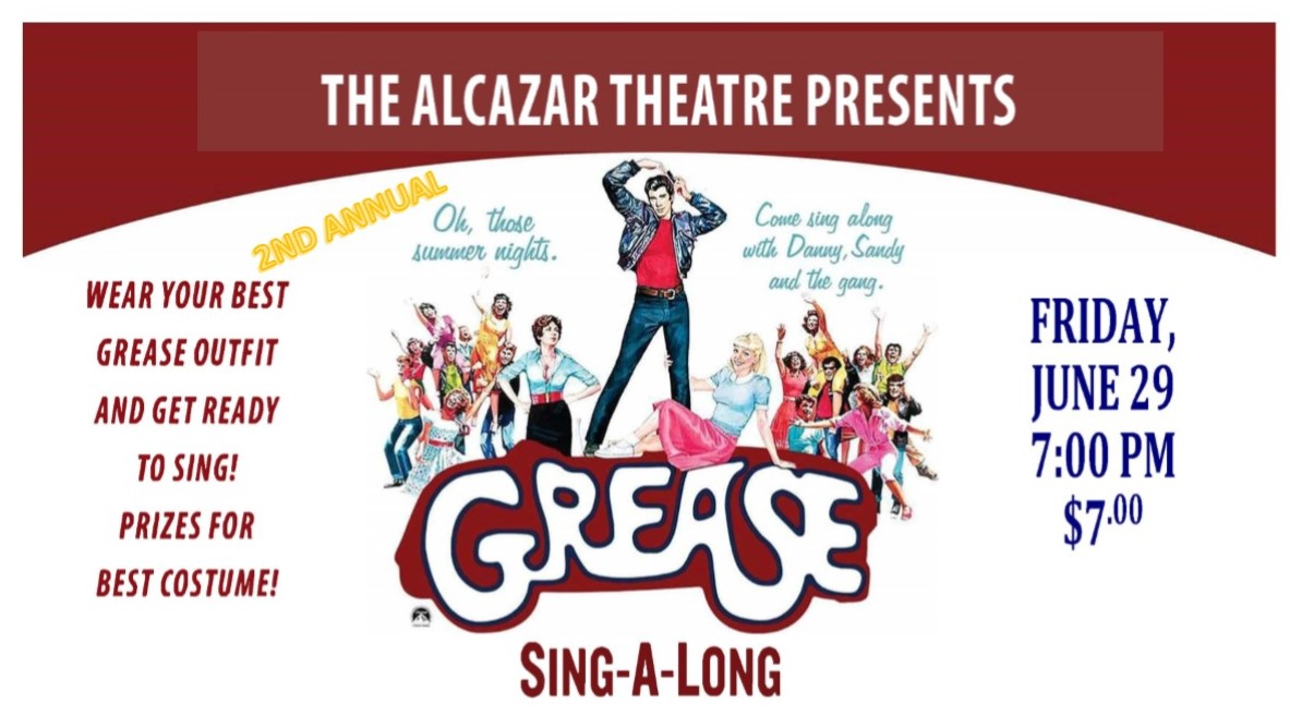 2nd Annual Grease Sing Along