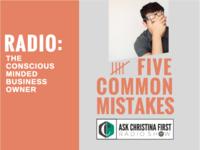 Radio: 5 Common Mistakes
