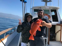 Coral Sea 3/4 day charter 5.27.18