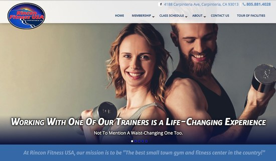Rincon Fitness USA Carpinteria Gym Home