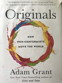 """Originals"" by Adam Grant"