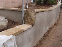 Concrete Wall Retrofit After
