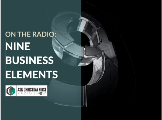 On The Radio: The Nine Elements