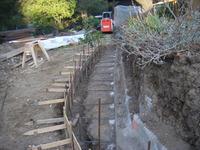 Concrete Wall Retrofit Before