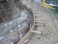 Concrete Wall Retrofit