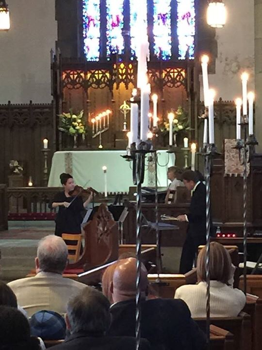 Shalom Service at St. Alban's UCLA