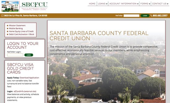 Santa Barbara County Federal Credit Union Home
