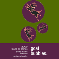 Goat Bubbles Blanc de Blancs 2009 Laplace Santa Barbara Funk Zone