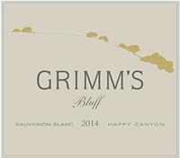 Grimm's Bluff Sauvignon Blanc 2014 Laplace Santa Barbara Funk Zone