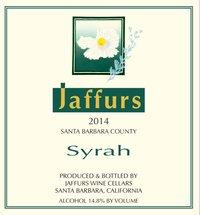 Jaffurs Syrah 2014 Laplace Santa Barbara Funk Zone