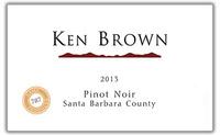 Ken Brown Pinot Noir 2015 Laplace Santa Barbara Funk Zone
