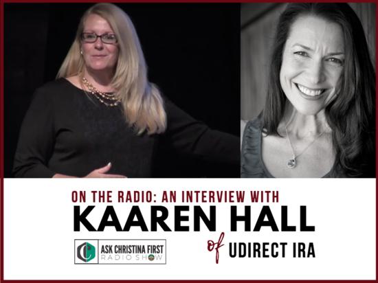 Radio: Interview w. Kaaren Hall of UDirect IRA