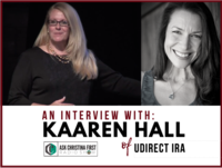An Interview w. Kaaren Hall of UDirect IRA