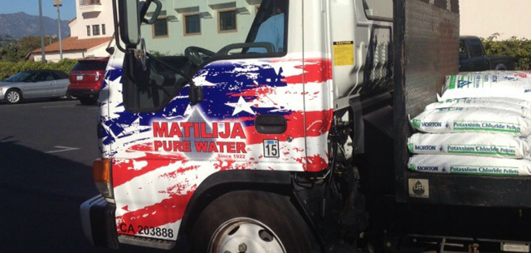 Matillija Salt and Potassium Delivery Santa Barbara