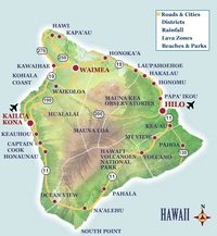 The Big Island Map