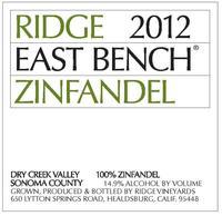 East Bench Ridge Zinfandel