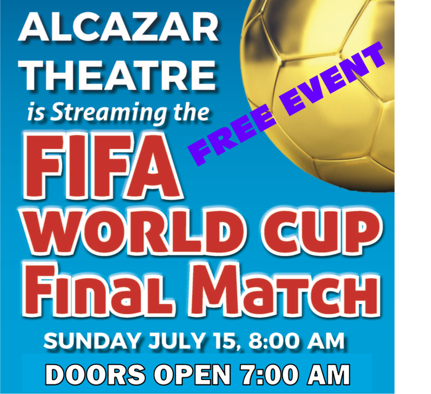 FREE EVENT:  FIFA World Cup Final Match