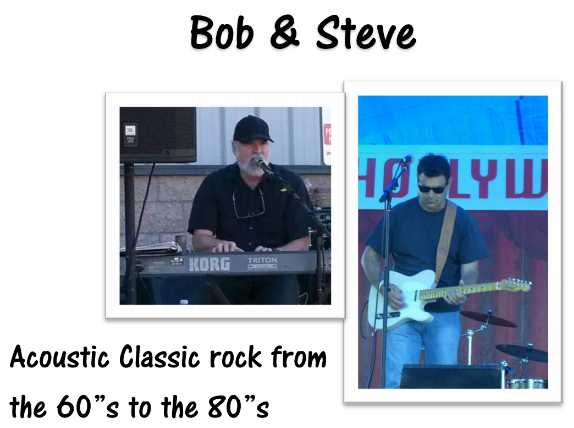 Bob and Steve the Musicians