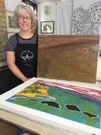 ART TOUR - Sara Woodburn Printmaking Studio - 07NOV18 - approved image