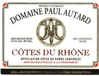 Domaine Paul Autard Cotes Du Rhone