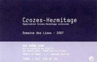 Domaine des Lises Crozes-Hermitage