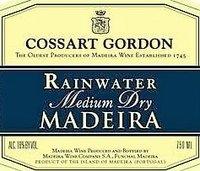 Cossart Gordon Medium Dry Madeira