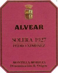 Alvear Solera Pedro Ximenez