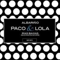 Albarino Paco & Lola Rias Baixas