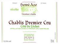 Domaine Herve Azo Chablis Premier Cru Cote de Lechet