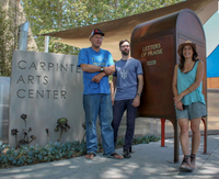 Letters of praise and grief, no postage required — Story Catcher Mailbox comes to Carpinteria